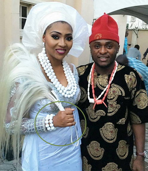 lilian esoro pregnant wedding day
