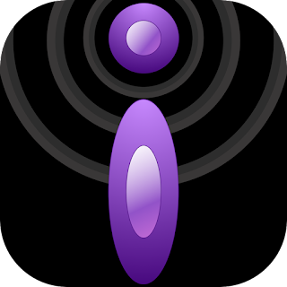 purple and black iBlogger icon
