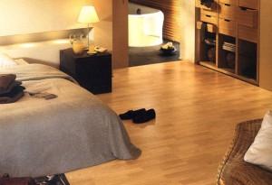 Laminaat vloer prima geschikt voor slaapkamer