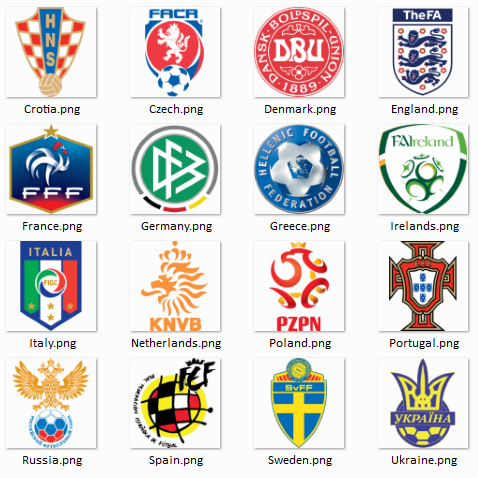 euro Download 16 Logo Team EURO 2012