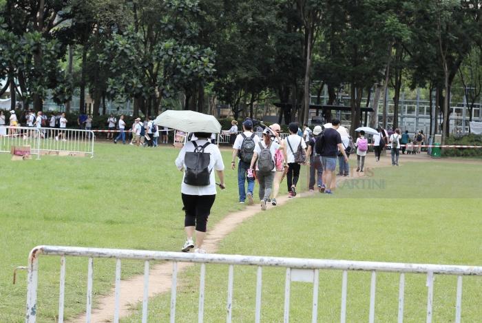 Suhu Panas Tertinggi 33,9 ° C tercatat di Hong Kong hari ini, Sedangkan Besok dan Sabtu Suhu akan Mencapai 34° C