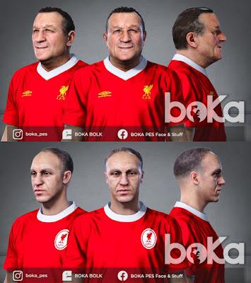 PES 2021 Faces Bob Paisley & Bill Shankly by Boka
