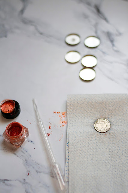 jak sprasować pigmenty