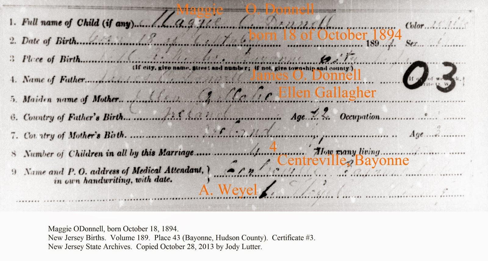 Tolle Nj State Birth Certificate Galerie - zertifizierungsstelle ...