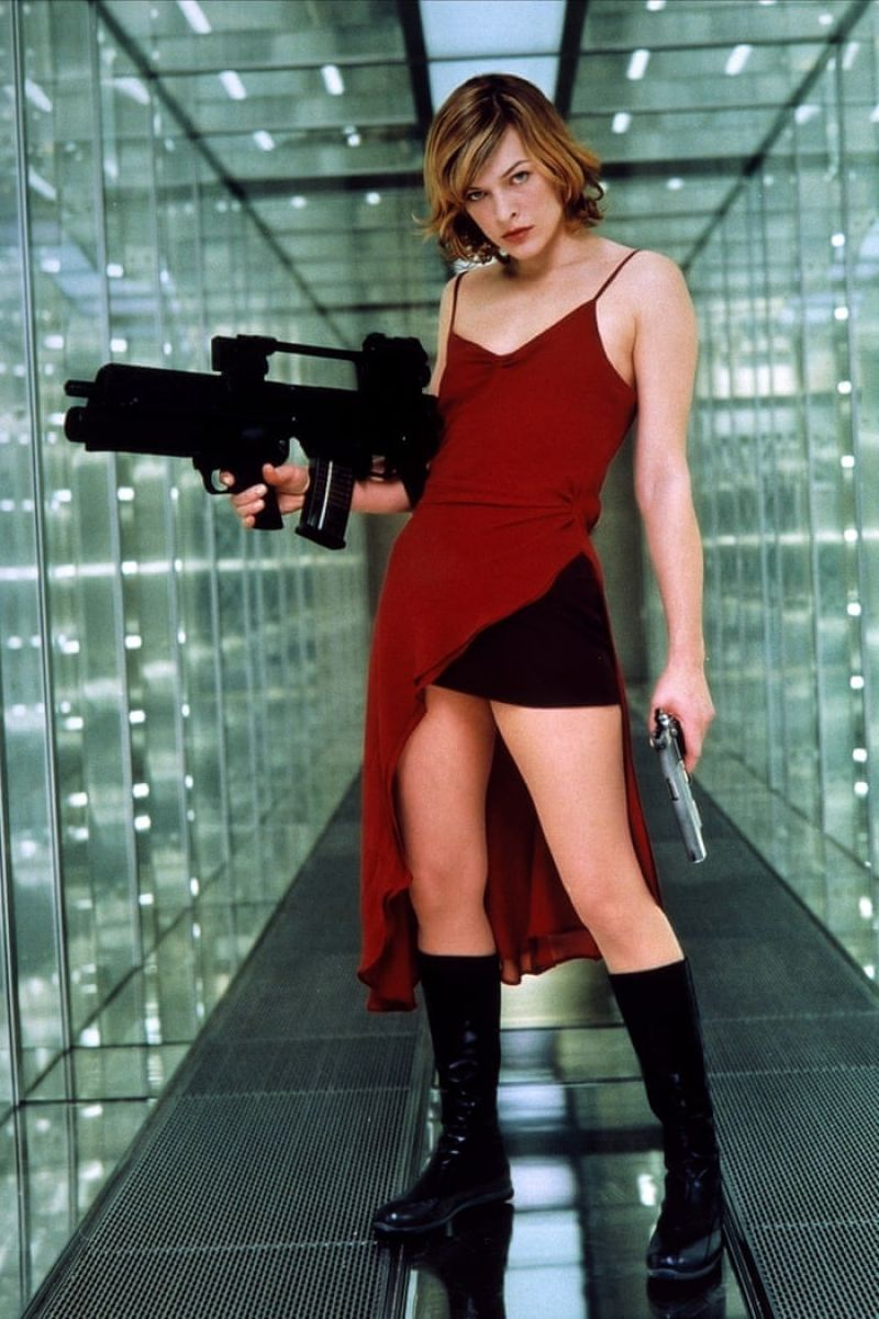 Milla Jovovich - Resident Evil Promo Photos
