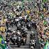 Motociata de Bolsonaro no Rio Grande do Sul foi a maior já registrada no estado