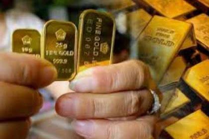 Harga Emas Pada Hari Ini Naik Melejit Per Gram Mencapai Rp 747.000