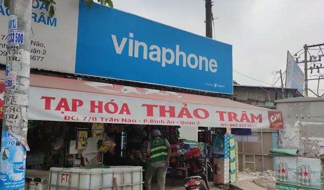 Địa chỉ Tạp hóa Card điện thoại, bia Heniken, Tiger , nước ngọt Thảo Trâm: 7/8 Trần Não, Bình An, Quận 2