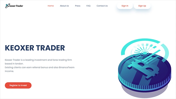 Новости от Keoxer Trader