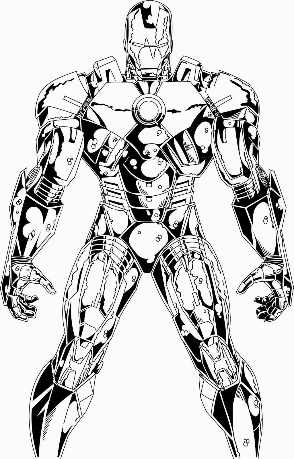 Iron Man Pictures Black And White