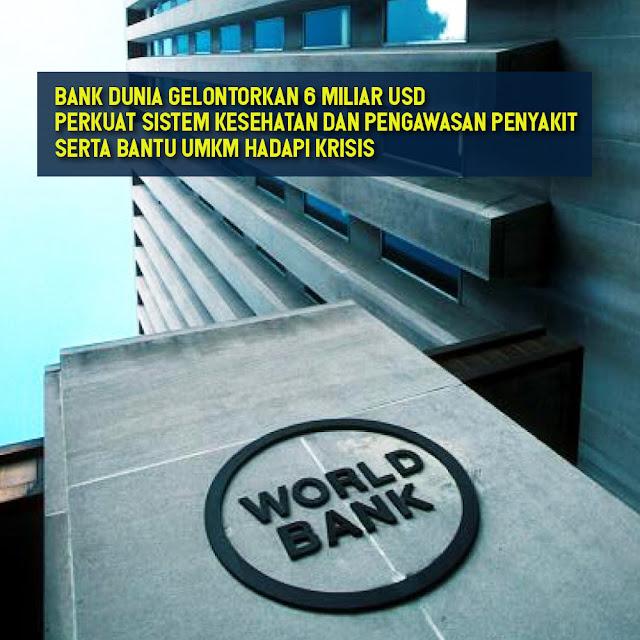 Bank Dunia membantu Perkuat Sistem Kesehatan Dan Pengawasan