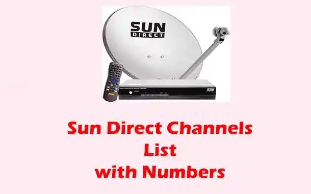 {2021} Sun Direct Channels List with Numbers (Latest)
