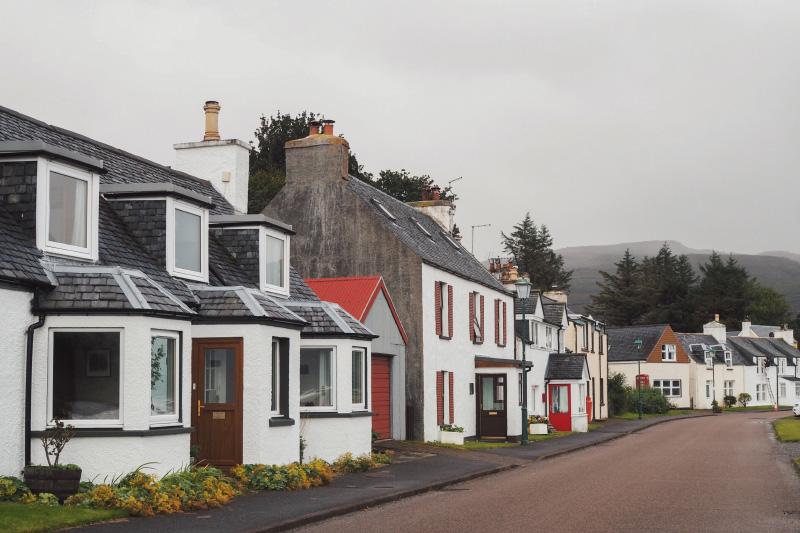 Visite du village de Shieldaig dans les Highlands en Ecosse