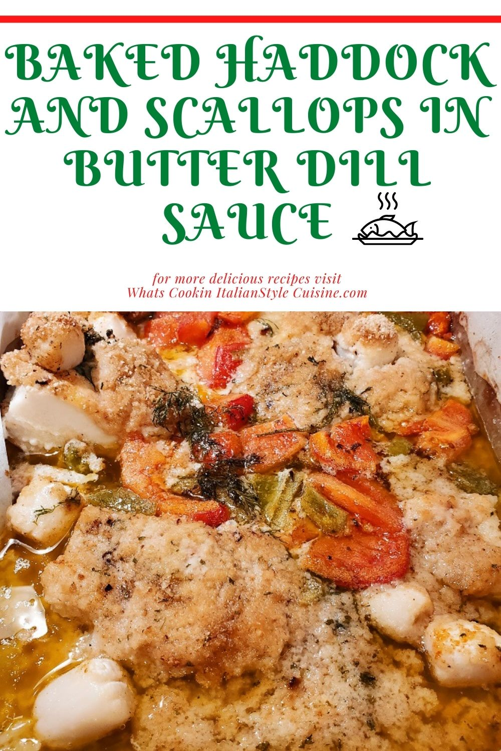 Pin for later how to make haddock and a lemon dill butter sauce