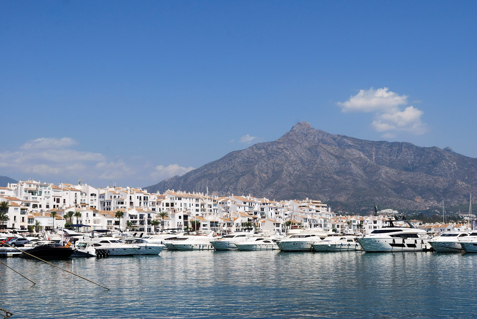 puerto banus marbella malaga spain marina
