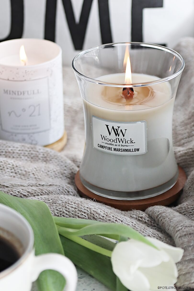 woodwick campfire marshmallow blog recenzja