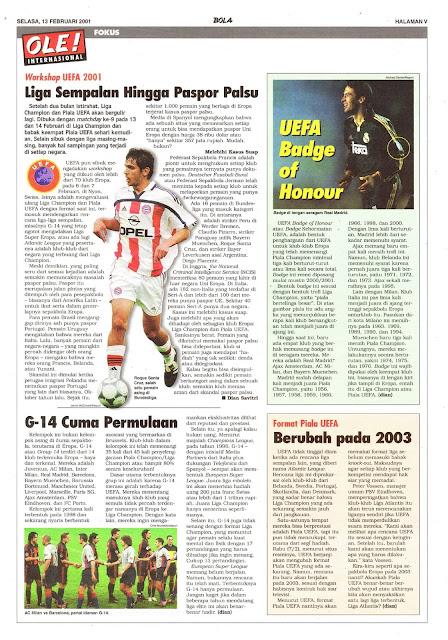 WORKSHOP UEFA 2001