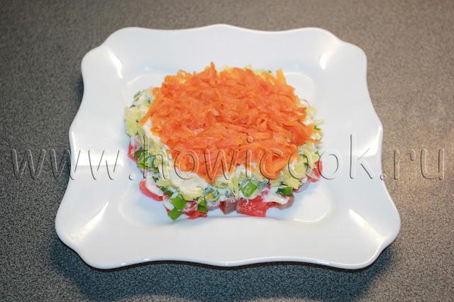 рецепт салата семга под шубой с пошаговыми фото