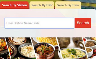 search for food in train