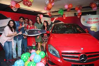 Raashi Khanna at Mirchi 95 Suno Mercedes Jeeto Contest Stills  0056.jpg