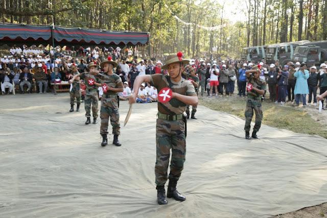 Gorkha Rifles khukuri dance
