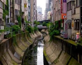 Sistem Drainase pada Sungai Shibuya, Jepang