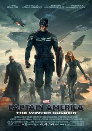 Captain America: The Winter Soldier 2014 BRRip 720p Dual Audio In Hindi English