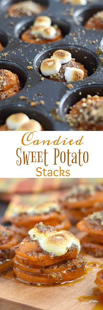 CANDIED SWEET POTATO STACKS