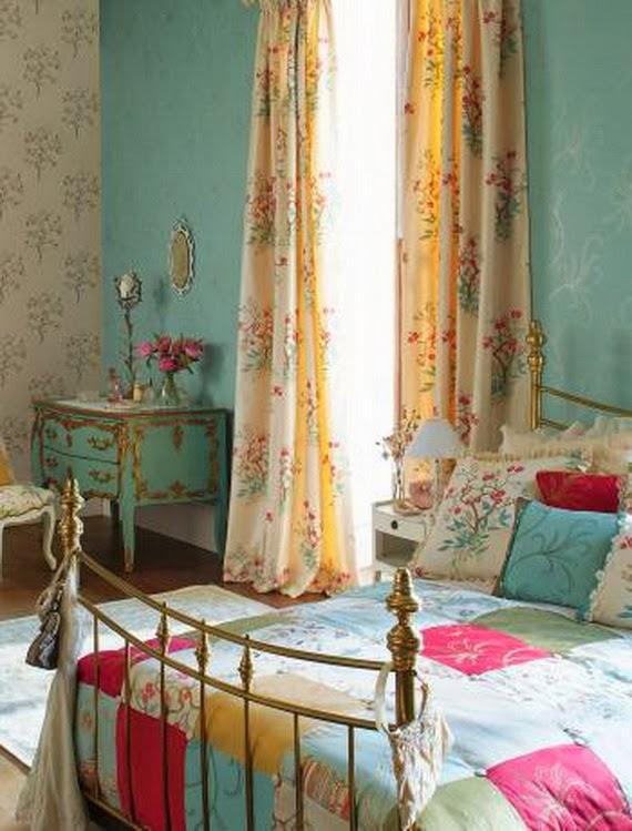 Δωμάτια με Vintage και Shabby Chic διακόσμηση