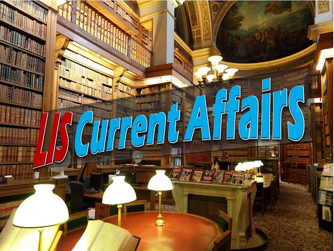 LIS Current Affairs (October)