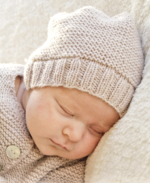 In my dreams (Knitted Baby Hat) - Free Pattern
