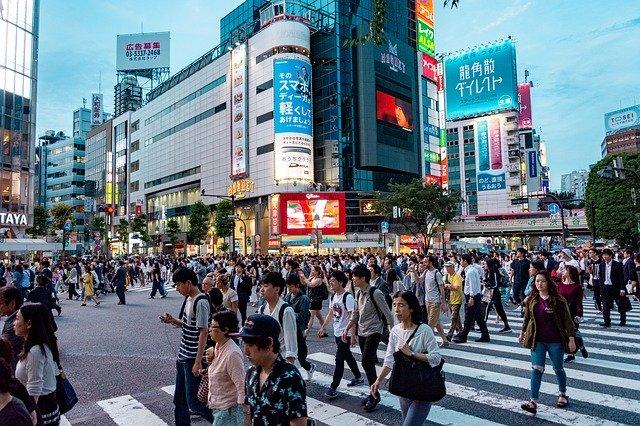 Shibuya Crossing Street, tokyo
