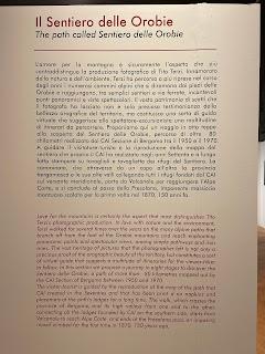 History of the Sentiero delle Orobie - Tito Terzi Exhibit