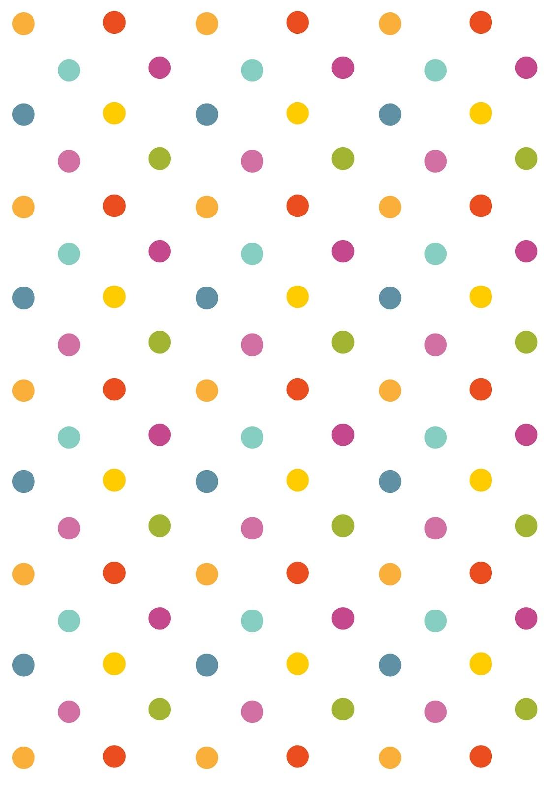 Free Digital Polka Dot Scrapbooking Paper