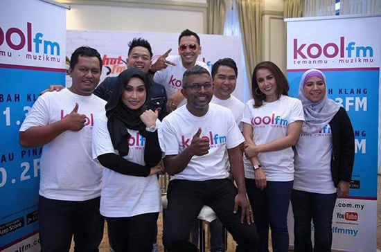 Senarai penyampai radio Kool FM
