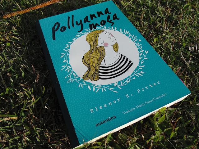 capa do livro Pollyanna Moça  escrito por Eleanor H. Porter