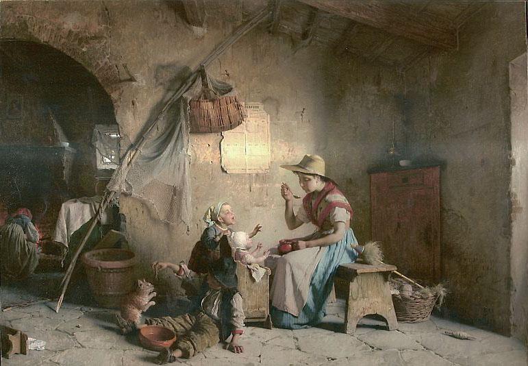 Pintura de Gaetano Chierici