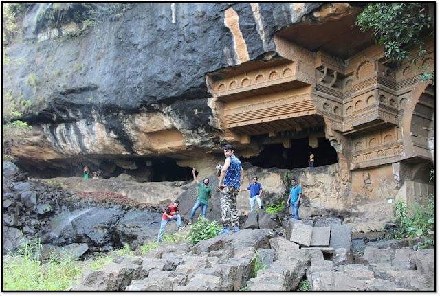 rajmachi trek and camping, kondhane caves