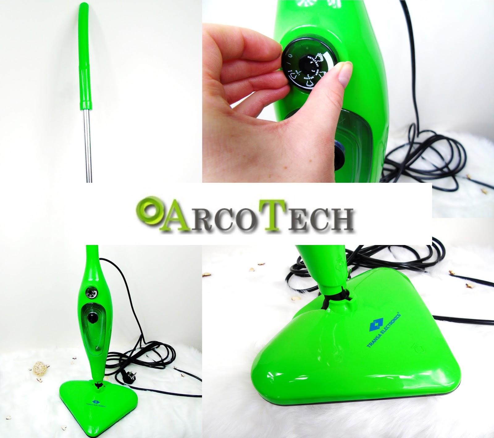 Mop parowy Transa Electronics 12w1 - Bo za wysoką jakość warto zapłacić więcej!