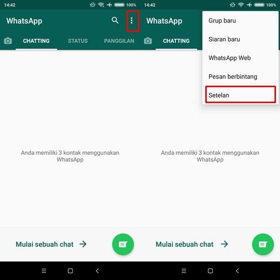 Cara agar foto di WhatsApp tidak tersimpan otomatis di galeri
