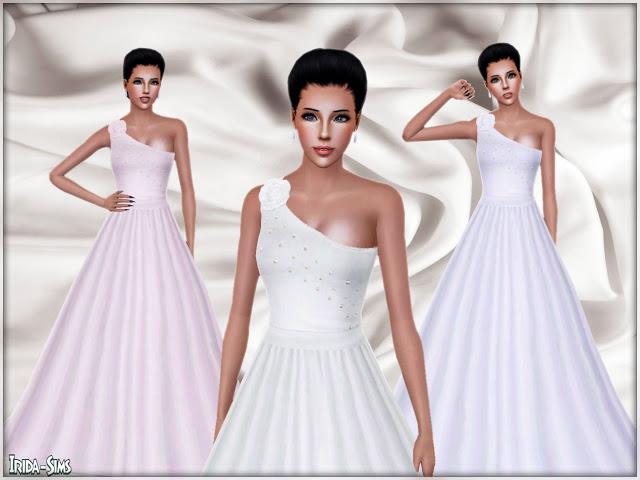 My Sims 3 Blog Wedding Dress by Irida Sims