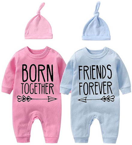 Cute Twin Baby Clothes