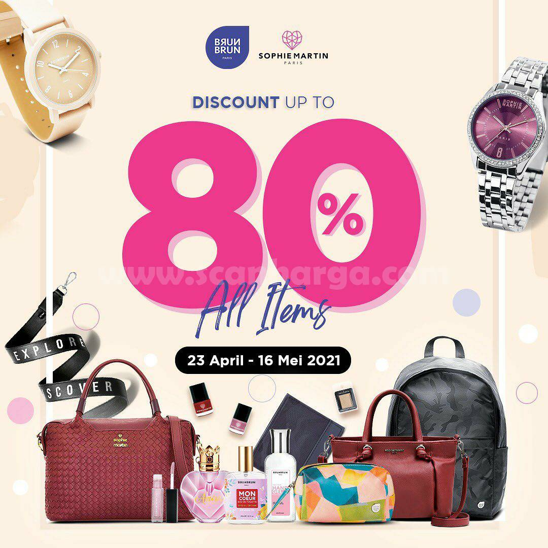 Promo BRUN BRUN X SOPHIE MARTIN PARIS Discount Up To 80% Off All Items