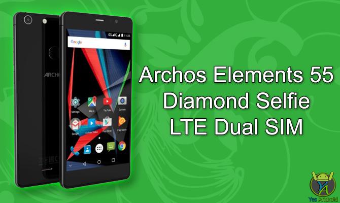 Archos Elements 55 Diamond Selfie LTE Dual SIM Specs Datasheet