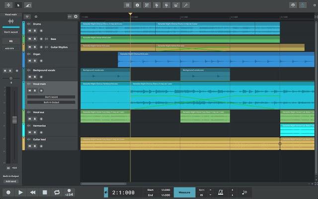 n-Track Studio 9.1.0 Build 3634 - Phần mềm thu âm chỉnh sửa âm thanh
