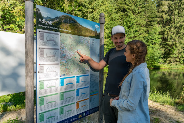 Almwanderung Inzell | Bergwald- Erlebnispfad - Frillensee - Steineralm 02