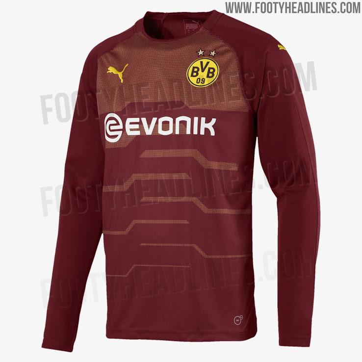half off f09ca 7fde9 Puma Borussia Dortmund 18-19 Goalkeeper Home, Away & Third ...