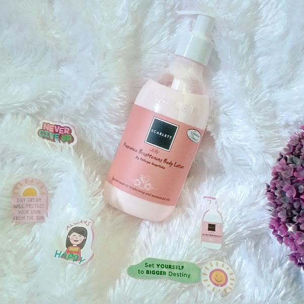 Review Scarlett Jolly Fragrance Brightening Body Lotion, Wangi yang Manis dan Mewah