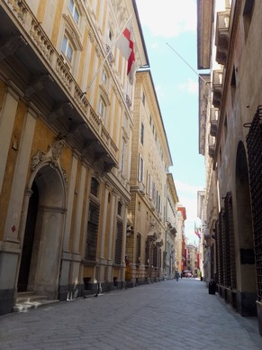 gênes genova via garibaldi strada nuove palazzi dei rolli