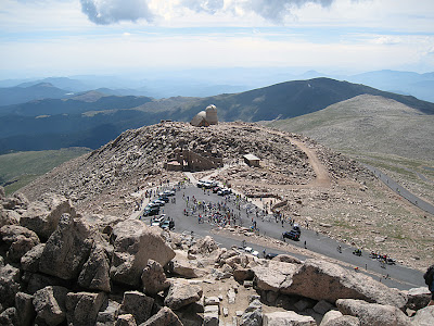 The summit of Mt. Evans